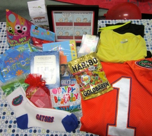 Love all my goodies -- from decorations to tv series to sportswear to a happy place in my mind!!  THANK YOUI!